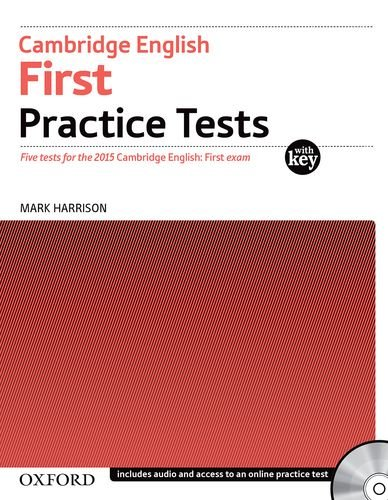Cambridge English First Practice Tests With Answer Key and CDs Pack (Oxford)