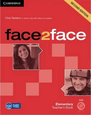 Cambridge Face2face Elementary Teacher's Book with DVD (2nd edition)