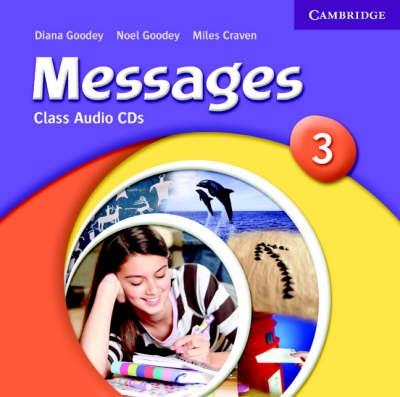 Cambridge Messages 3 Class CDs