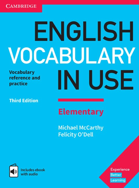 English Vocabulary in Use 3rd Edition Elementary Edition with answers + eBook