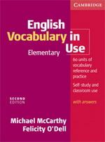 English Vocabulary in Use: Elementary 2nd Edition