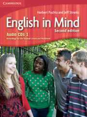 English in Mind 2nd Edition Level 1: Class Audio CDs (3)