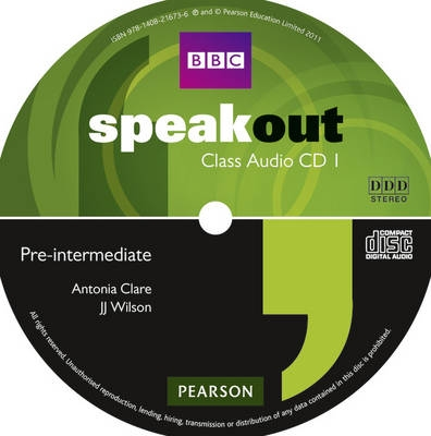 Speakout Pre-Intermediate Class CD (x3)