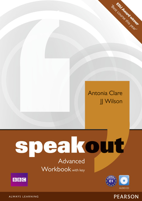 Speakout Advanced Workbook with Key and Audio CD Pack