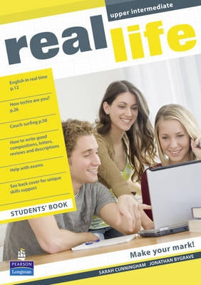Real Life Upper Intermediate Students Book (Global edition)