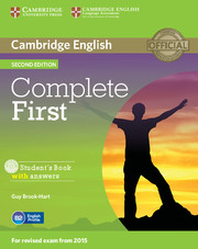 Complete First 2nd Edition Student's Book with Answers with CD-ROM