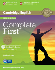 Complete First 2nd ed. SB Pack (SB with answers & CD-ROM, Class Audio CDs (2)