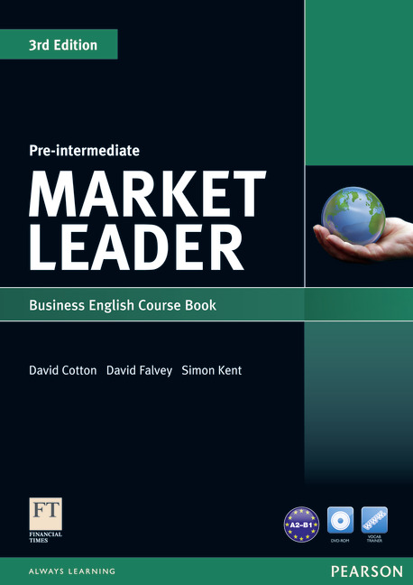 Market Leader Pre-intermediate Coursebook & DVD-rom Pack (3rd ed.)