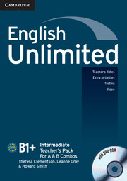 English Unlimited Intermediate Teacher's Pack (Teacher's Book with DVD-ROM)