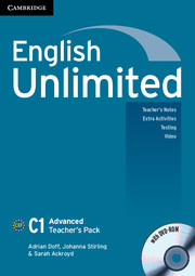 English Unlimited Advanced Teacher's Pack (Teacher's Book with DVD-ROM)
