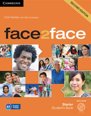 Face2face Starter Second Edition Students Book with DVD-ROM