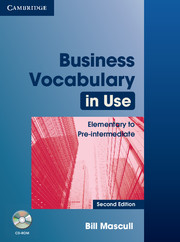 Business Vocabulary in Use: Elementary to Pre-intermediate (with answers + CD)