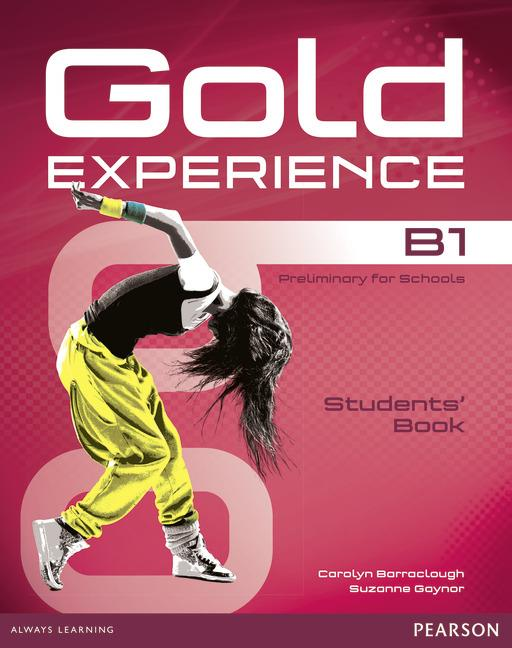 Gold Experience B1 Students Book with DVD-ROM