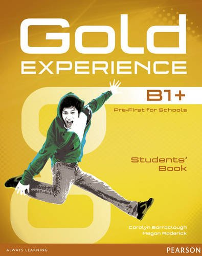 Gold Experience B1+ Students Book with DVD-ROM