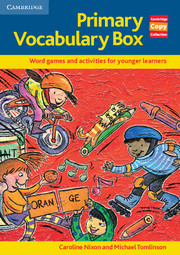 Primary Vocabulary Box Book