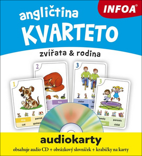 Angličtina kvarteto audiokarty + CD
