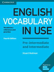English Vocabulary in Use: Pre-interm and Interm 4th Edition + ebook