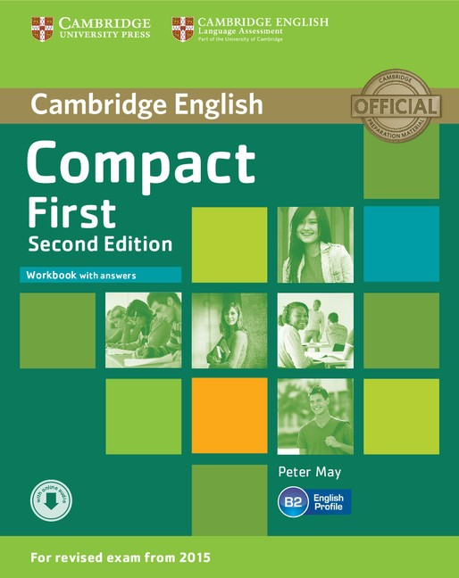 Compact First 2nd Edition Workbook with Answers with Audio CD