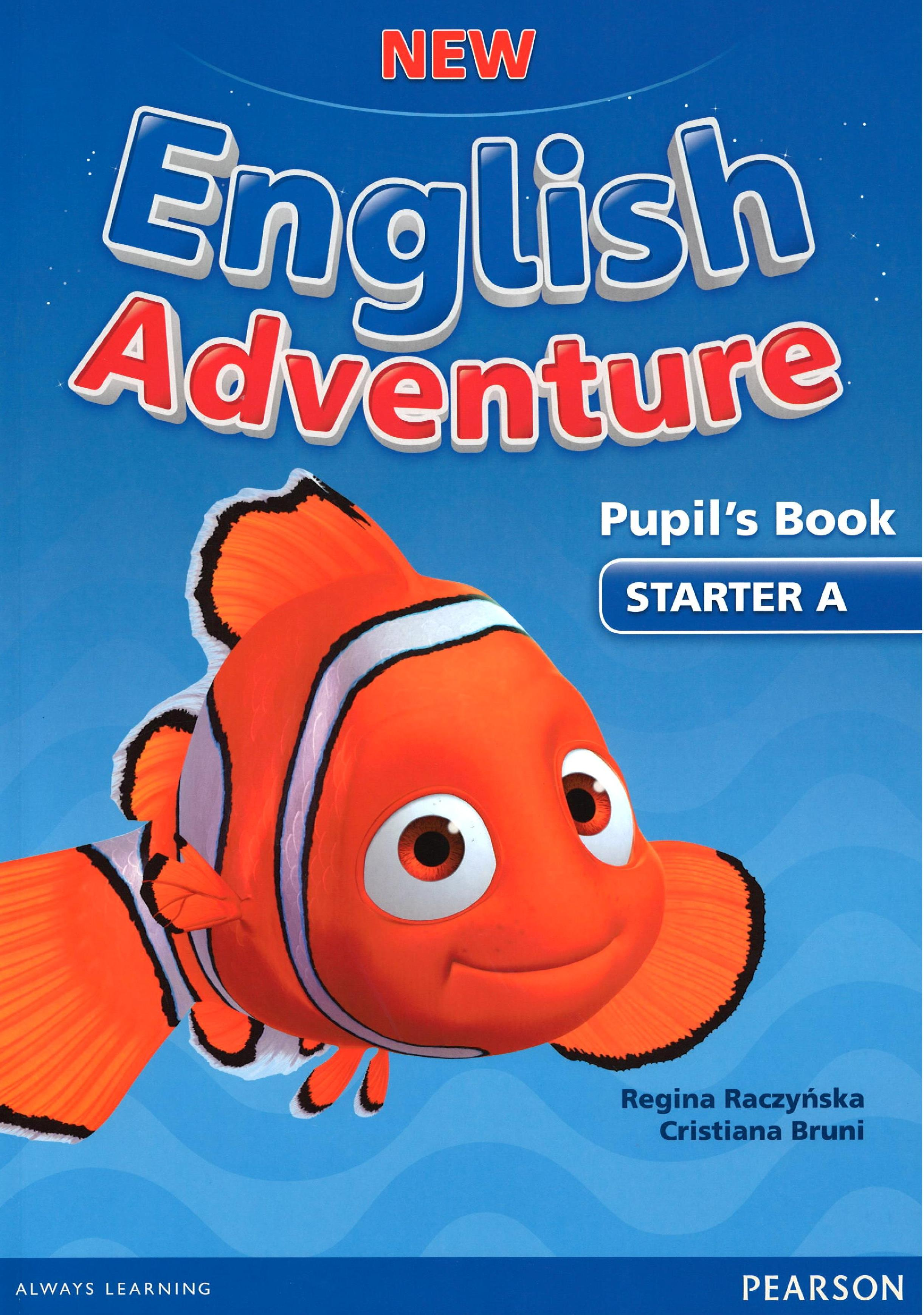 New English Adventure Starter A Pupil´s book