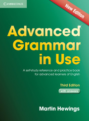 Advanced Grammar in Use 3rd edition Edition with answers