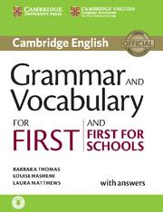 Grammar and Vocabulary for First (new 2015 version)